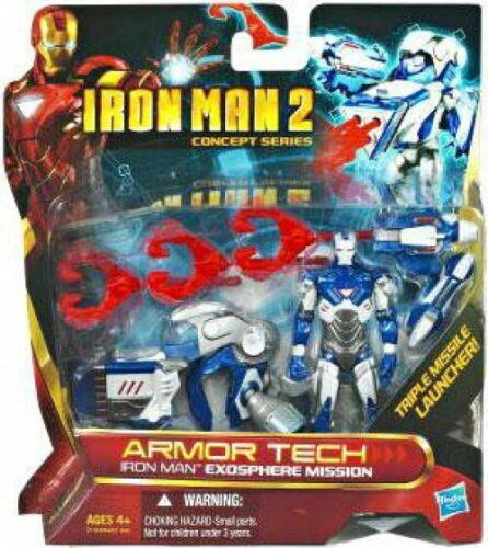 Iron man 2 concept series Armor tech Iron Man exosphère Mission Action Figure