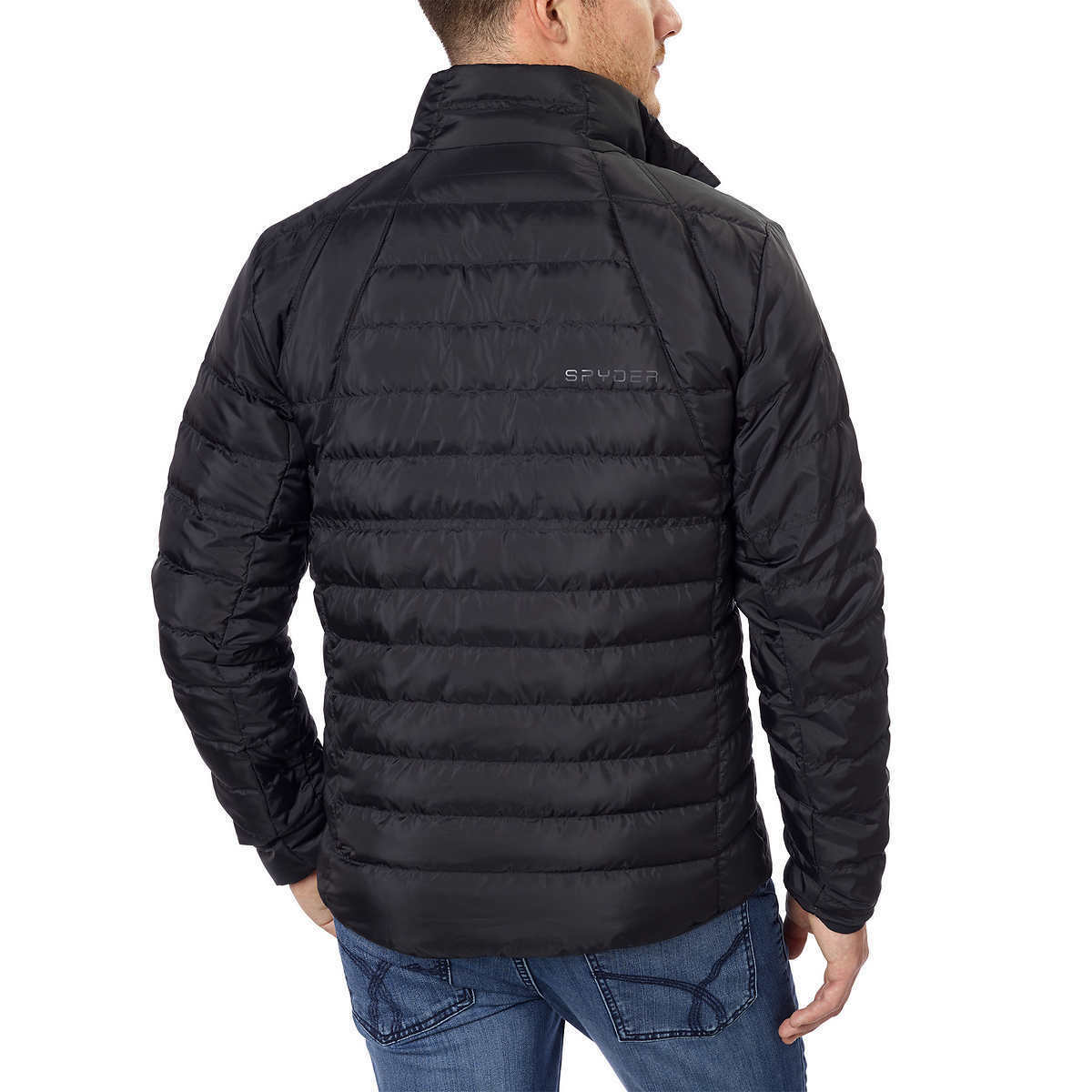 0820f254231434 Mens Spyder Prymo Down Jacket Coat Style 162001 Black Size L for ...