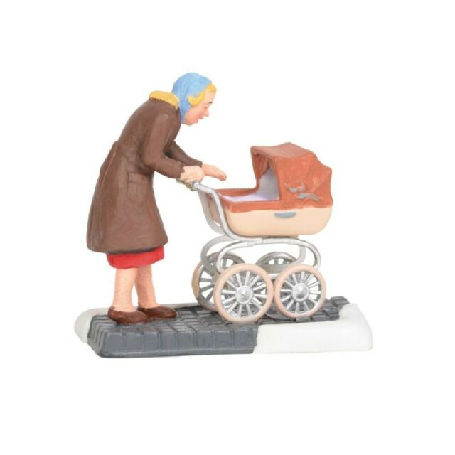 Department 56 Christmas in the City Village Baby's First Shopping Trip 6003061