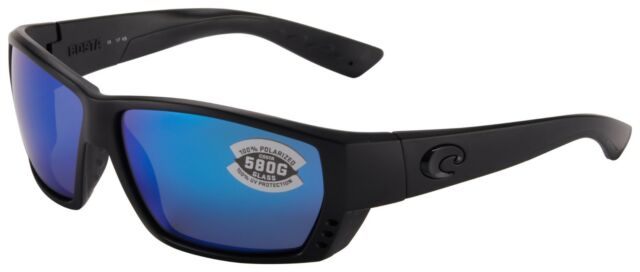 Costa Delel Mar Tuna Alley Blue 580P polarized lens new w// tags case and cloth
