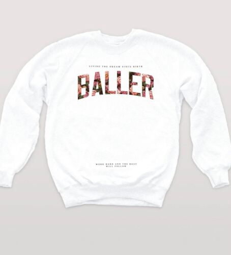 Baller Sweat Floral Dream Hipster Pull Indie Swag Fresh