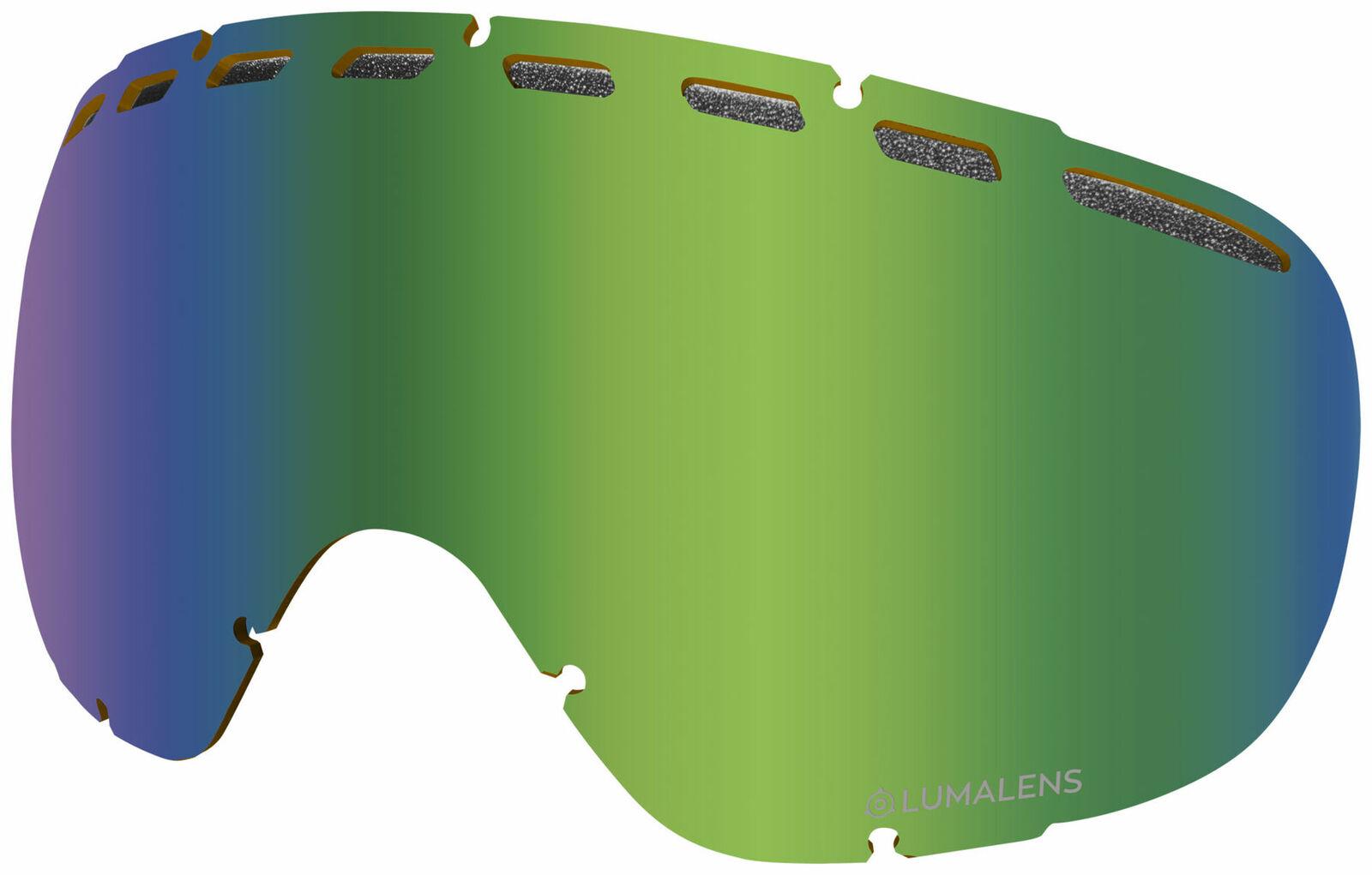 Dragon Rogue Replacement Goggle Lens (Lumalens Grün Ion)