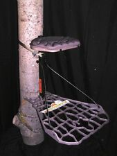 Lone Wolf Assault Hang On-Tree Stand w/ Safety Harness-ASHOII