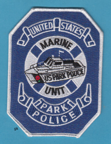 US PARK POLICE MARINE UNIT DIVE SHOULDER PATCH  NICE