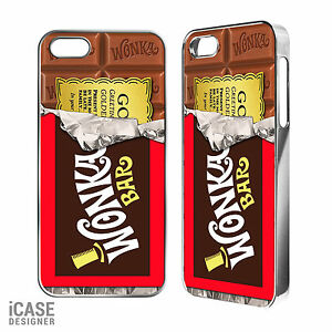 Wonka Chocolate Bar Golden Ticket Phone Case For Iphone 4 4s 5 5c 5s