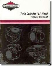 briggs stratton twin cylinder l head repair manual 271172 ebay rh ebay com Briggs and Stratton Engine ID Briggs and Stratton Engine Numbers