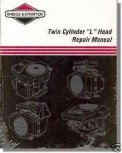 BRIGGS-amp-STRATTON-2-Cyl-L-Head-New-Repair-Manual-271172