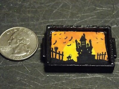 Dollhouse Miniature Metal Silver Tray Platter 1:12 inch scale G77 Dollys Gallery