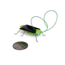 New Solar Power Robot Insect Grasshopper Bug Locust Cricket Kit Toy Funny Gifts
