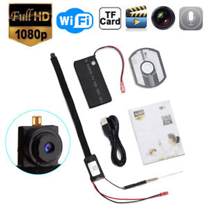 Mini WIFI 1080P HD Hidden IP Camera Wireless DIY Module DV DVR NVR Nanny Cam