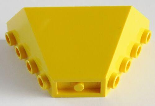 Mulden-Ende / Tipper End Sloped LEGO Fahrzeug / Vehicle 2 Stück gelb # 3436
