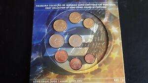 COFFRET SET EURO COIN PORTUGAL BU 2002