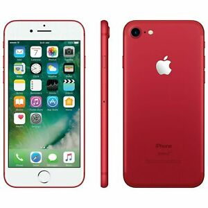 Apple iPhone 7 128GB Factory GSM Unlocked T-Mobile AT&T Smartphone - Red