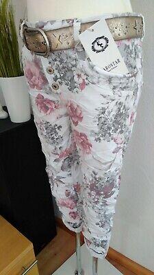 Karostar Big Size Chino Boyfriend Italy Style Jeans Hose Khaki