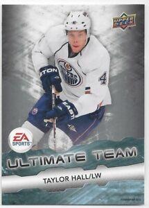 2011-12-Upper-Deck-EA-Ultimate-Team-Taylor-Hall-EA11