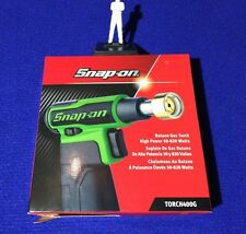 Snap On Cordless High Power Butane Gas Blow Torch 50 - 820 watts TORCH400G GREEN