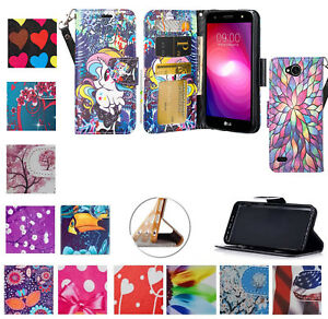 half off 3fe5a 9c4e5 Details about for LG Fiesta 2 X Power 2 X Charge K10 Power Case Wallet  Purse Screen Flip Cover