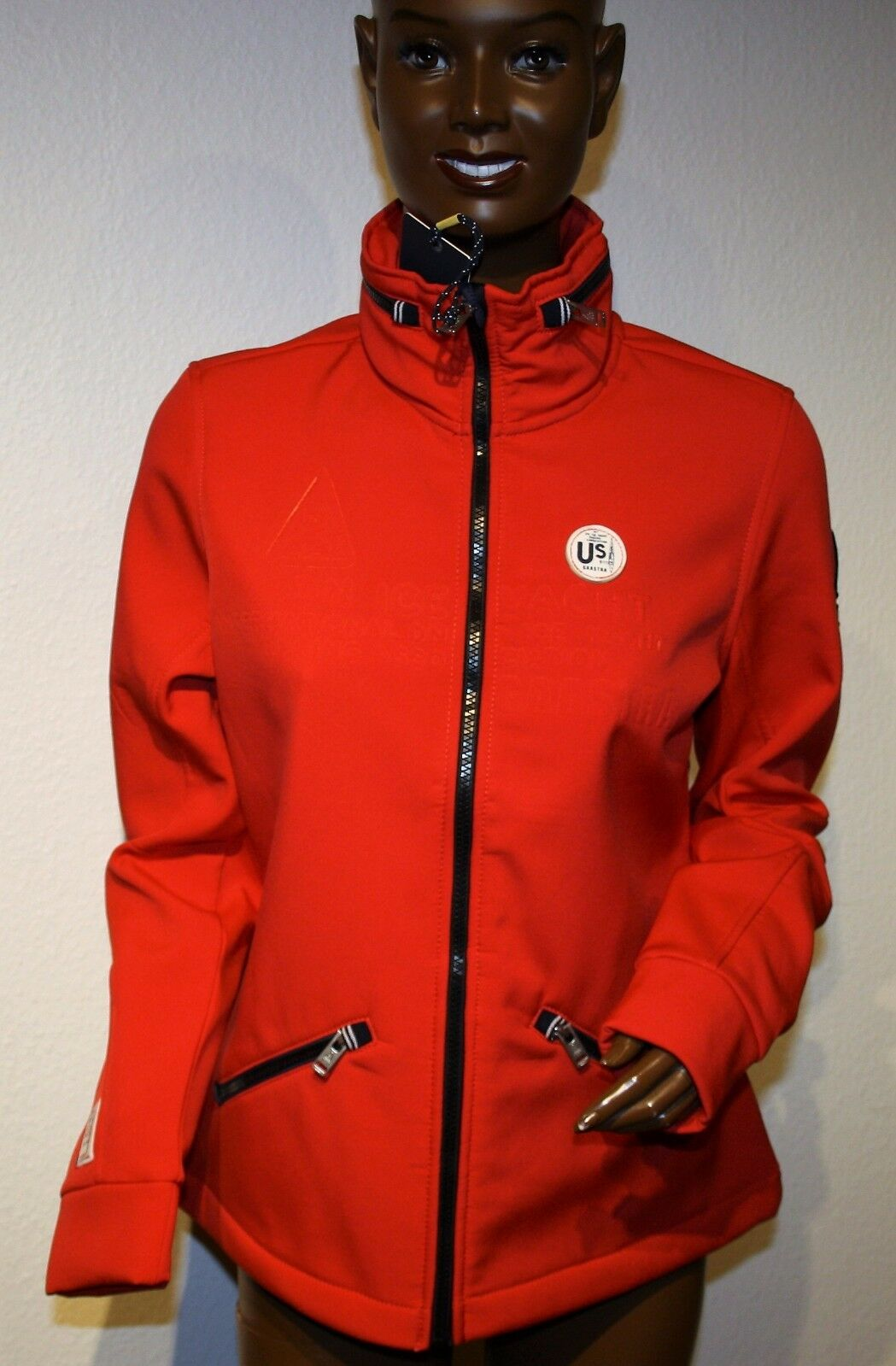 Neu aktuelle Gaastra Frühjahrs Softshelljacke  Jacke, Gr. XL, rot, super