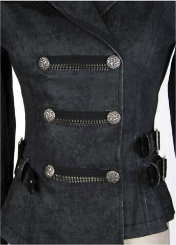militare Galon Fashion Giaccone punk catena asimmetrico Punkrave Lolita con xwYFaXYqS