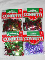 CHRISTMAS TABLE CONFETTI PARTY GIFTS DECORATION TABLE TOPS CARDS XMAS TREES