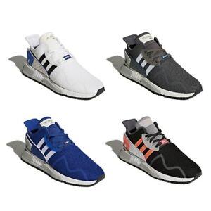 Details about New Adidas EQT Cushion ADV Men Grey Black White Blue Fashion Shoes Trainers NIB