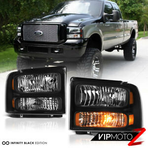 99 F350 Headlights >> Details About Full Conversion Kit 1999 2004 Ford F250 F350 Superduty Headlights Bumper Lamps