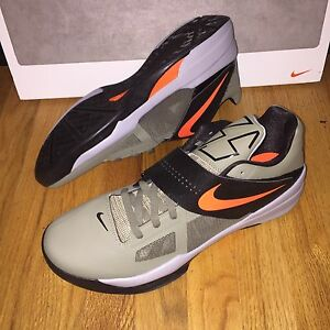 939191faf08b Nike Zoom KD 4 Undefeated Rogue Green Orange 473679-302 Mens Shoes ...