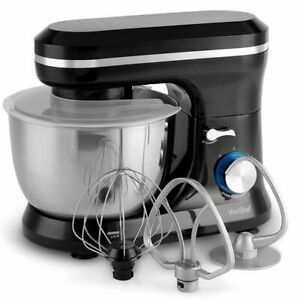Food-Cake-Mixer-Black-4-5L-Stainless-Steel-Mixing-Bowl-Sale-Gift-Cheap-1000W