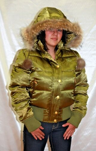Women/'s Rocawear Jr Avocado Shiny Jacket