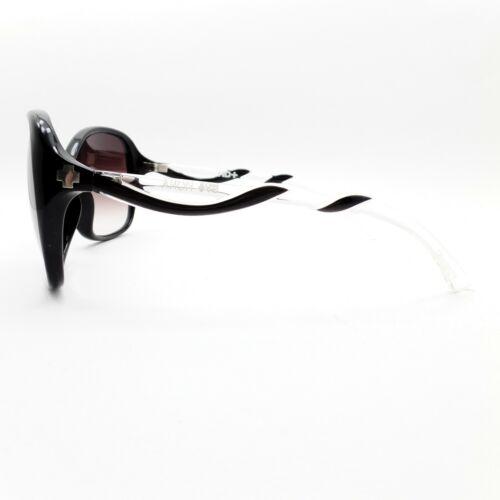 Spy Optics Fiona Black Clear Merlot Fade New Sunglasses Authentic