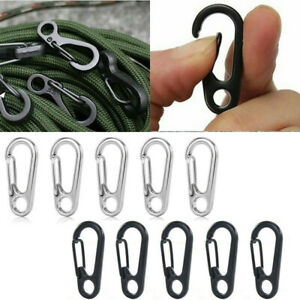10pcs-Mini-Keyring-Survival-Hook-Tool-Carabiner-Snap-Spring-Clips-Buckle-Tool
