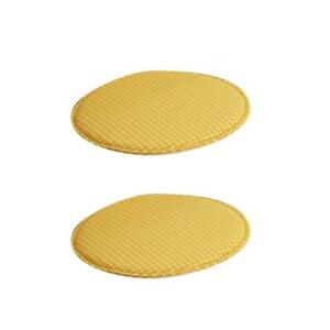 2pcs Round Chair Cushion Seat Pads