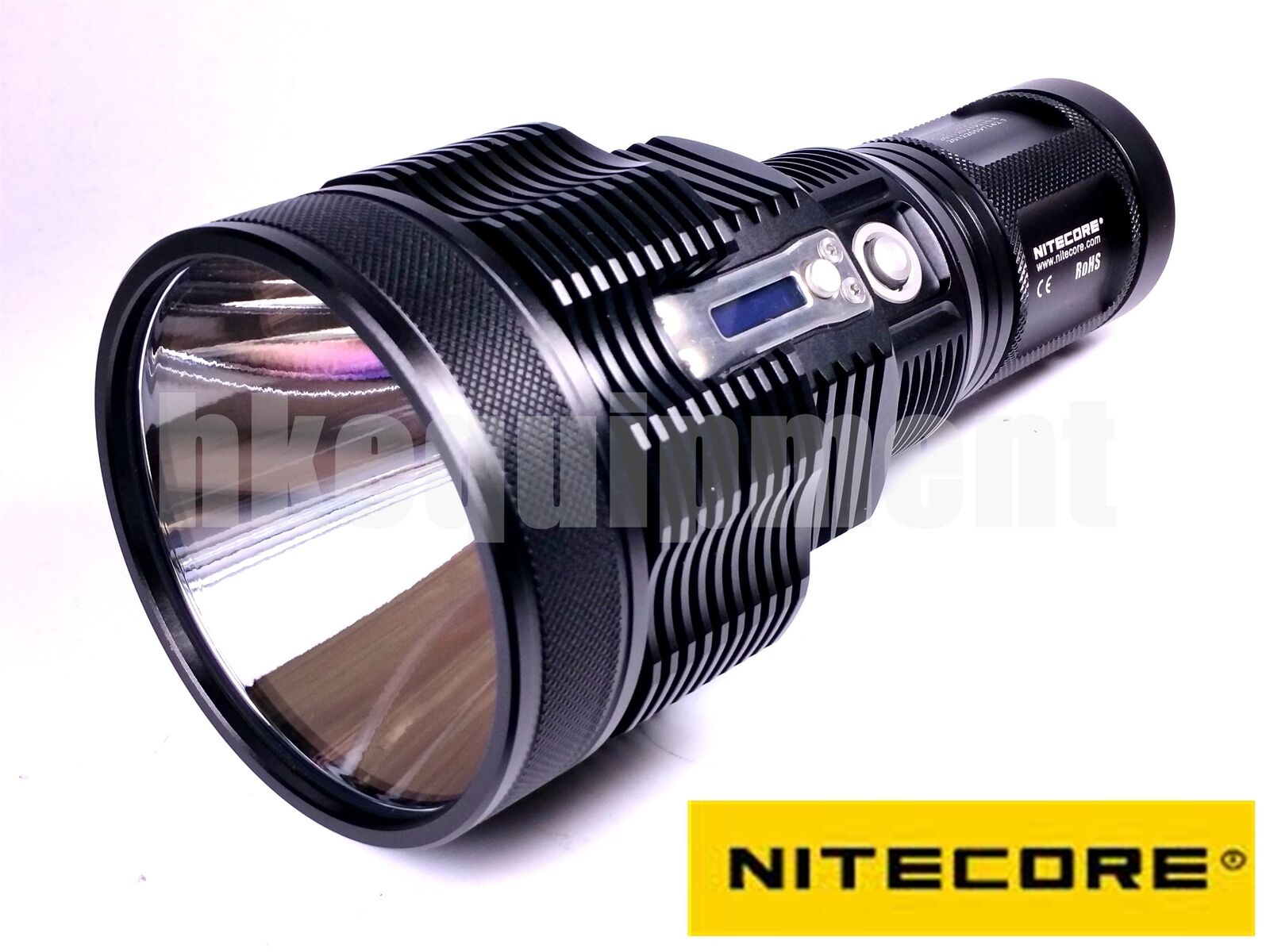 Nitecore TM36 Lite Luminus SBT-70 LED Flashlight 1800lm + 4x NL189 3400 Battery