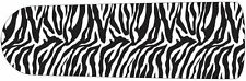 "ZEBRA FAN BLADE Decals Room Decor Animal Print Black White Skins 42"" 52"" Bedroom"