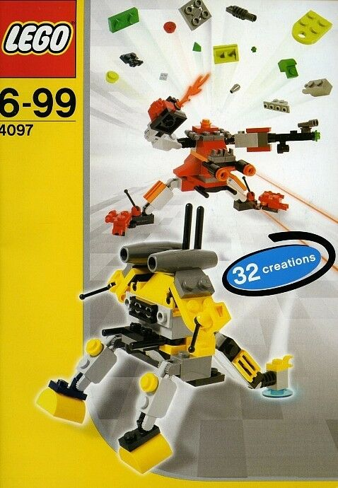 Lego Designer Set Robot 4097 Mini Robots NEW Sealed