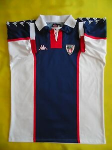 4.5 5 ATHLETIC BILBAO 1998 1999 ORIGINAL FOOTBALL SHIRT JERSEY ... f53a71d826fe9