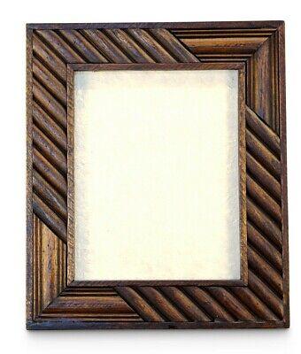 dia: 30x30 cm tallar: 21x21 cm 1ud hexagonal Marco de madera con cristal /Ã/¡rbol del t/Ã/©