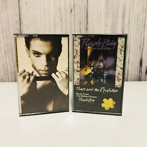 2-Prince-amp-The-Revolution-Cassette-Tapes-Purple-Rain-Soundtrack-The-Hits-2