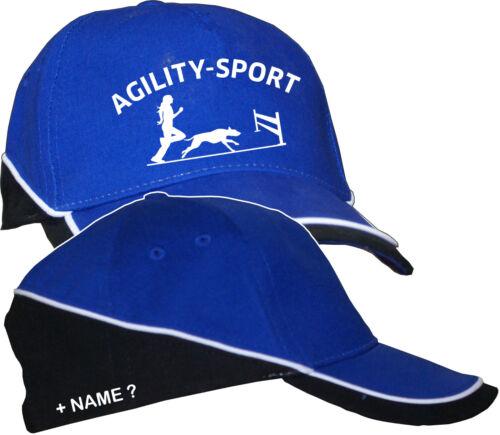 Agility Sport Bekleidung Hundeschule Basecap Kappe Mütze Hut Hunde Training 6