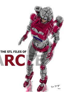 Details about STL file of G1 Arcee Custom  read item description