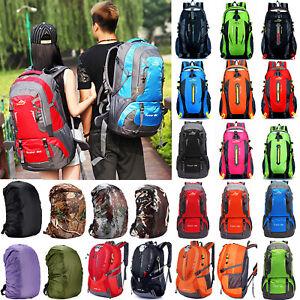Unisex-Rucksack-Hiking-Waterproof-Backpack-Outdoor-Camping-School-Packs-Bags-US