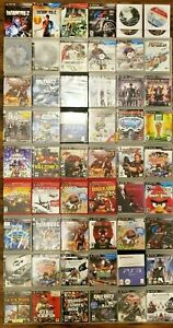 HUGE-LOT-OF-56-PlayStation-3-Video-Games-For-PS3-Console-System-Bundle-50-60-100