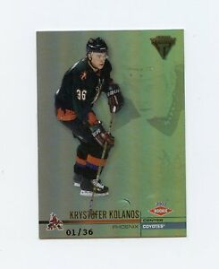 01-02-PRIVATE-STOCK-TITANIUM-ROOKIE-RC-176-KRYSTOFER-KOLANOS-1-36-COYOTES-59424