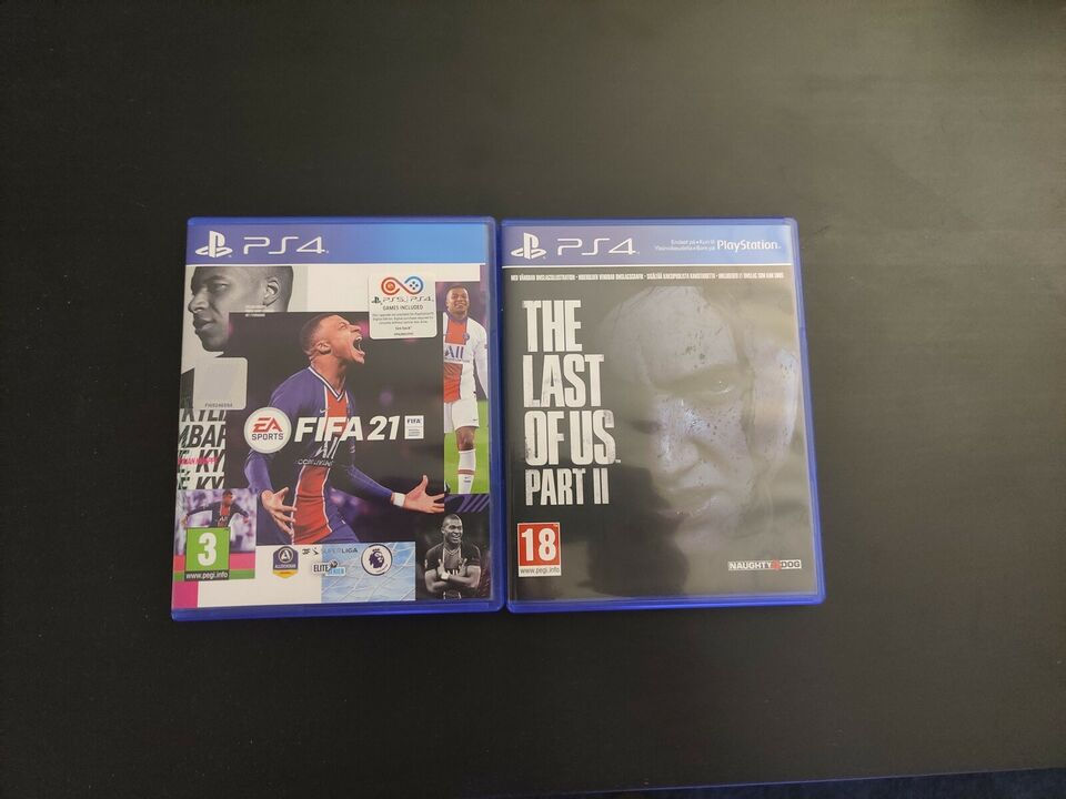 PS4 PRO GoW Edition 1Tb, 3 Kontrollere, Fifa 21 +