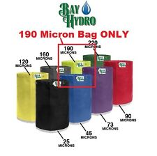 BAY HYDRO 5 Gallon 190m Micron Replacement Bubble ICE Extraction Bag QUALITY $$