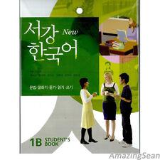 Sogang Korean 1B Student's Book With CD Korean Language Book Conversation BO50