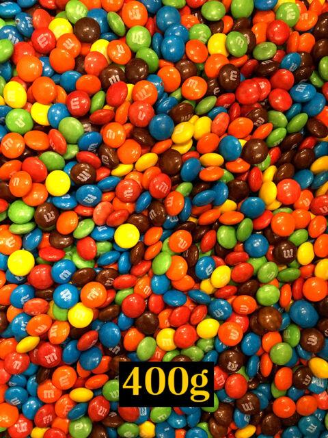 Mini M&M's Milk Chocolates 400g Bulk for party or lollies buffet - M&M mini