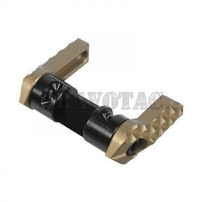 Seekins Precision Safety Selector Ambidextrous 90/60-Degree 5.56/223/308 - FDE