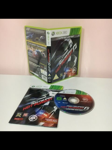 Need For Speed Hot Pursuit Limited Edition XBOX 360 PAL. Testé.