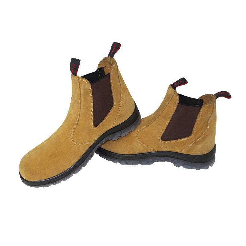 per il tuo stile di gioco ai prezzi più bassi Dimensione 11 Uomo scarpe Safety Work stivali Steel Toe Toe Toe Elastic Footwear Uomo stivali  fino al 65% di sconto